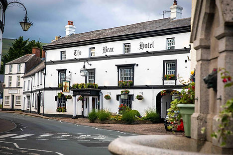 the bear hotel, electric bike holidays uk, brecon beacons cycling
