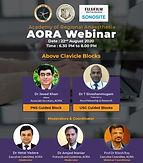 AORA Webinar - Above Clavicle Blocks
