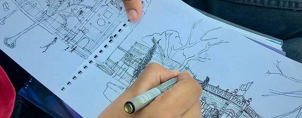 Sketch Arquitectónico