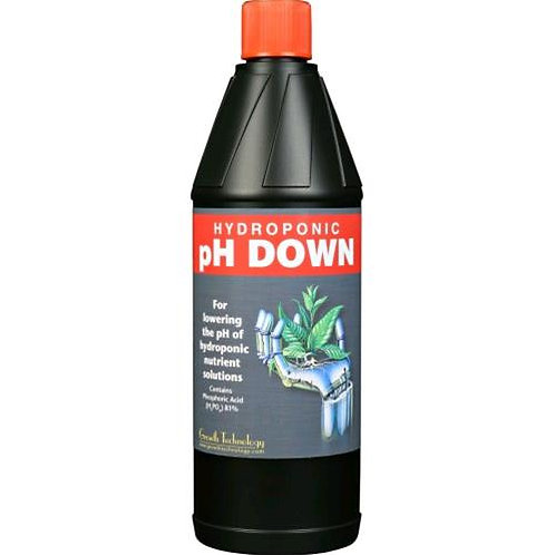 GROWTH TECHNOLOGY - PH DOWN 1L