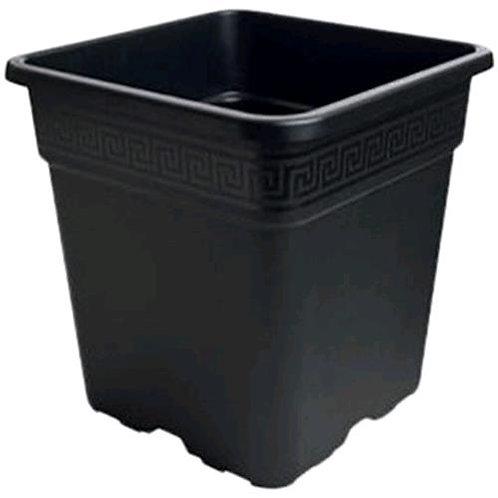 VASO QUADRATO IN PLASTICA 30.5X30.5X30.5 - 18 L