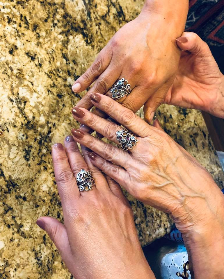 mother daughter ring