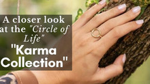 A closer look at the circle of life Karma Ring