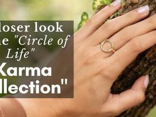 A closer look at the circle of life Karma Ring