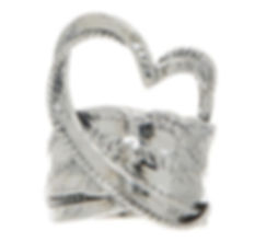 Or Paz heart ring