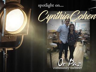 Spotlight on....Cynthia Cohen
