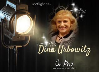 Meet....Dina Urbowitz, Community Member of April!