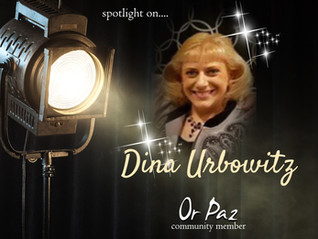 Meet....Dina Urbowitz, Community Member of April!