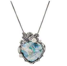 Or Paz Roman Glass Necklace