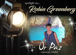 Meet Robin Greenberg, Community Member of the Month!