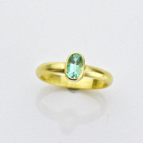 Classic Bezel Ring With Beryl