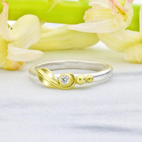 Sweet Pea Diamond Ring