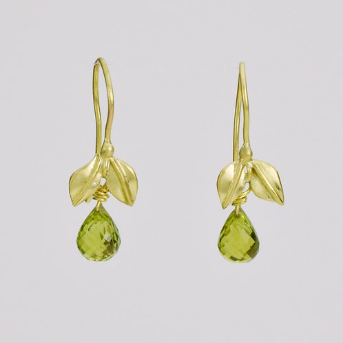 Peridot With 2 Leaves