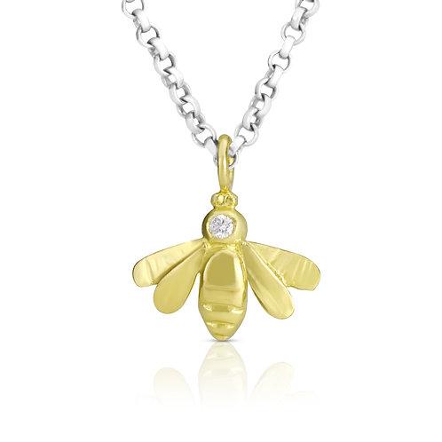 Bee With Diamond
