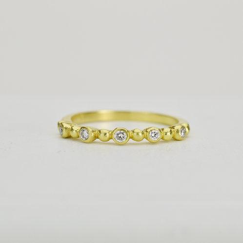 Diamond Ring With Granules