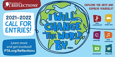 Reflections 2021-2022 Logo I Will Change the World By ....png