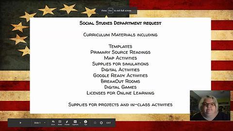 Ms. Prepster Social Studies Class