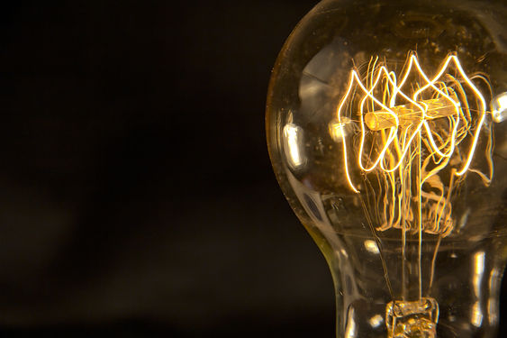 Decorative antique edison style filament