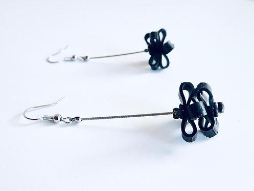 Boucles d'oreilles Pomme de Pin