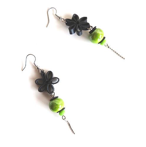 Boucles d'oreilles Petales