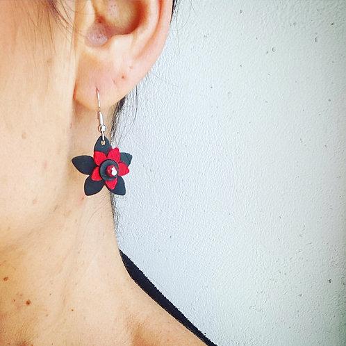 Boucles d'oreilles courtes Printemps