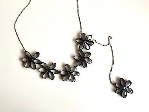 Collier modulable Fleur
