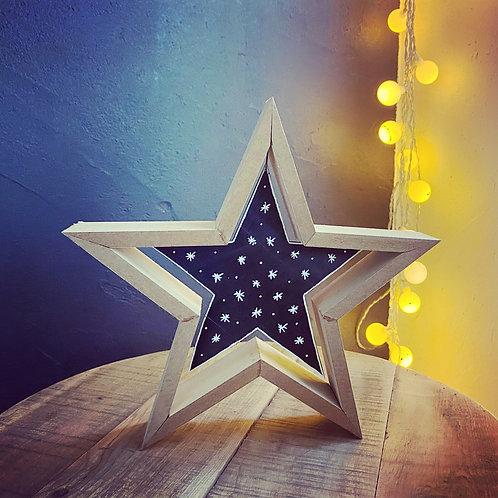 Étoile à poser - Moyen modèle