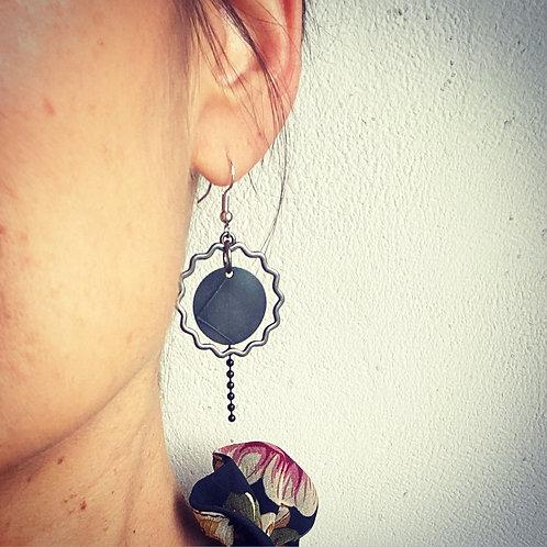 Boucles d'oreilles Solaire
