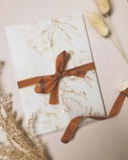 The Laurie Vellum Invitation Wrap