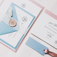 EMMA Pastel Invitation Suite