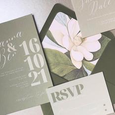 GIANNA Botanical Invitation Suite