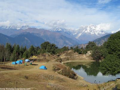 Jylhät vuoret, Ayurveda ja mielettömät unelmat
