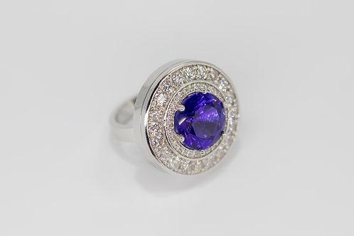 Бриллиантовое Кольцо с Аметистом Arnau