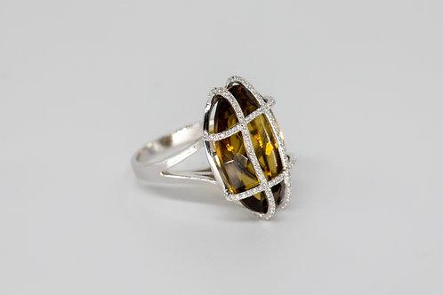 Бриллиантовое Кольцо с Топазом Arnau