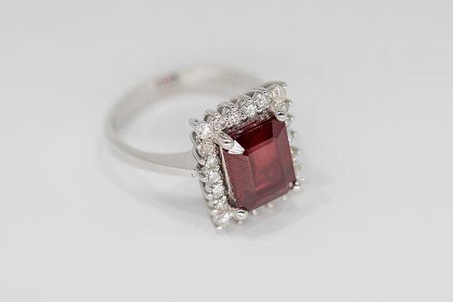 Бриллиантовое Кольцо с Рубином Arnau