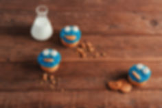 Chuka Cookies Monster Cupcakes