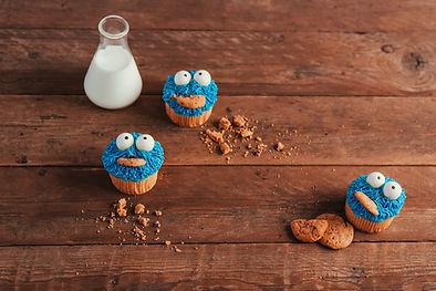 Chuka Cookies Monster Cupcakes