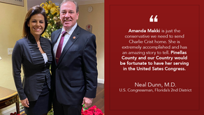 Florida Congressman Neal Dunn M.D. Endorses Amanda Makki