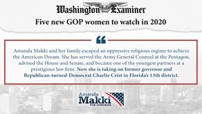 Amanda Makki - One of Five new GOP women to watch in 2020