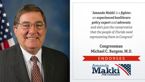 Top Republican Physician on Healthcare Committee Endorses Amanda Makki