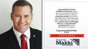 First Green Beret to Serve in Congress Endorses Amanda Makki