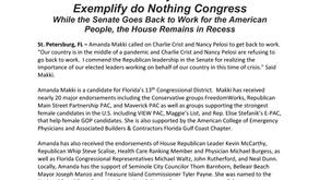 "Makki: ""Crist-Pelosi Exemplify a ""Do Nothing"" Congress"""