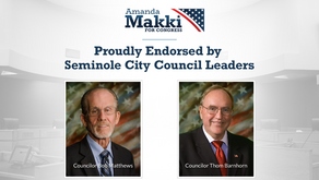 Seminole City Council Leaders Endorse Amanda Makki