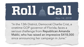 Roll Call: One-Time GOP Gov Faces a Serious Challenge from Amanda Makki