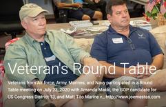 Veterans Roundtable Event