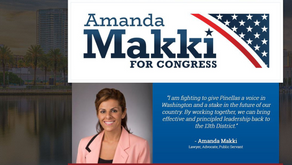 Tampa Bay Times -Amanda Makki gets front-runner treatment in District 13 Congressional forum.