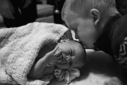 roberts family   newborn