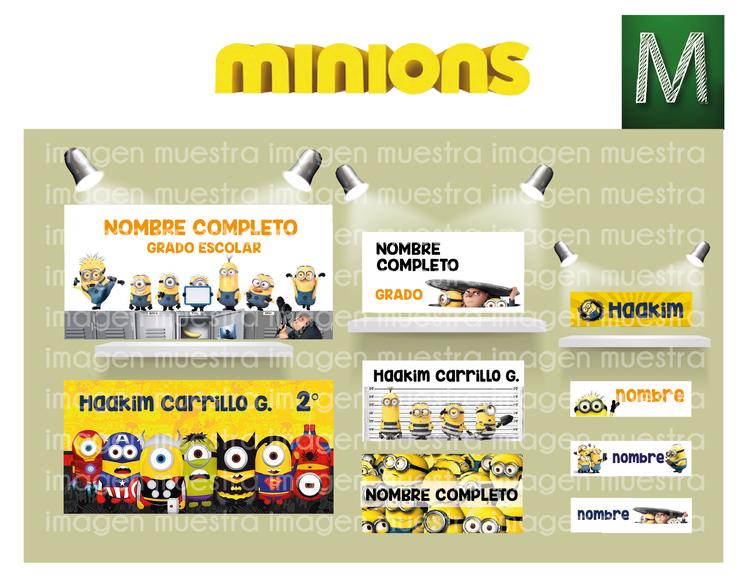 Etiquetas Minions y Mario Bros-02.png