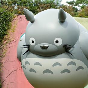 Museu Ghibli   Studio comemora 20 anos com balão gigante de Totoro
