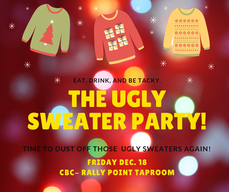 Ugly Sweater Party Cox Brewing Company